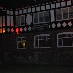 woodford-halse-social-club-exterior-at-night